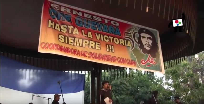 El comandante Guevara vive en el corazón de los Pueblos