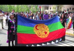 Marcha por la Resistencia Mapuche convoca a miles de personas